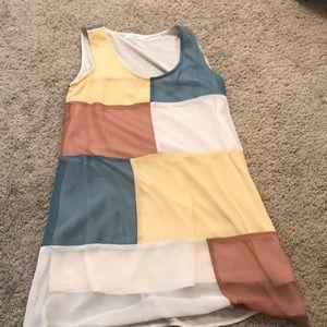 Fun-patterned dress